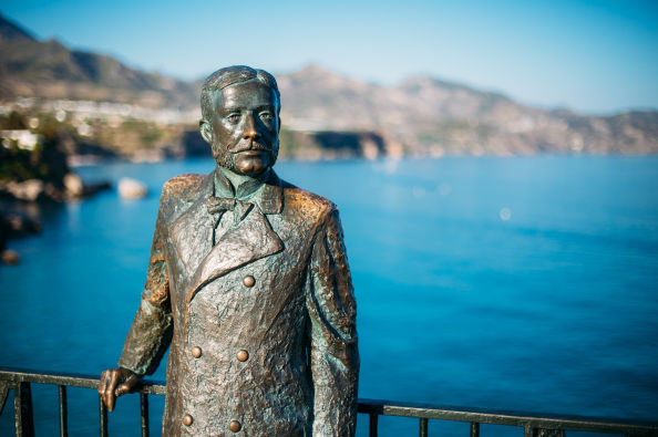 Bronze statue of King Alfonso XII