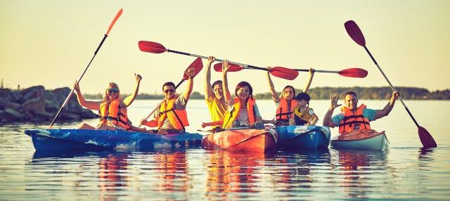 Tour en kayak por Noja