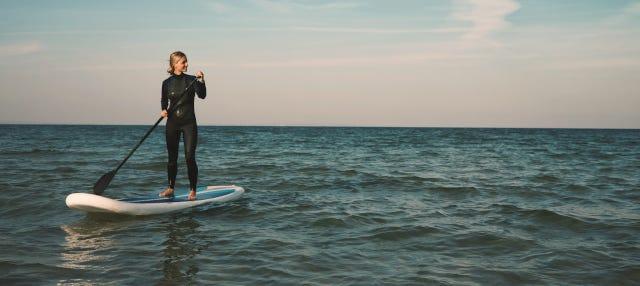 Tour en paddle surf por Noja