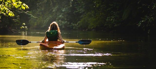 Descenso del Oria en canoa o paddle surf