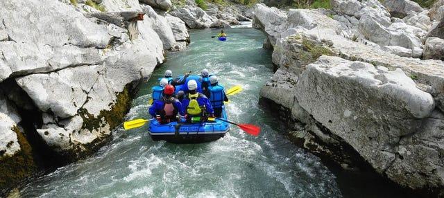 Rafting en el río Cares