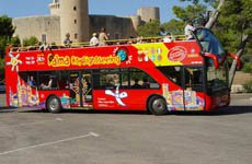 Autobús turístico de Palma de Mallorca