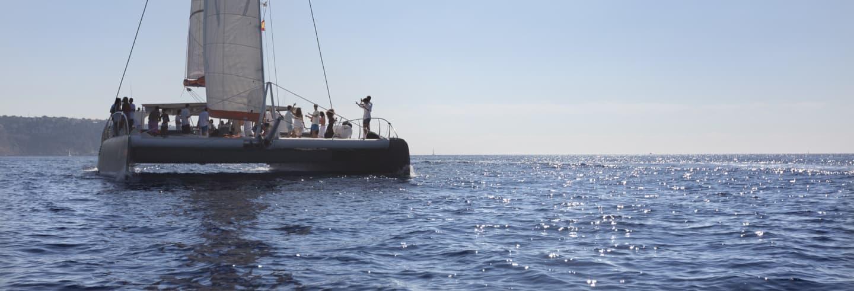 Paseo en catamarán por la bahía de Palma