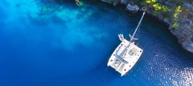 Paseo en catamarán a Illetas desde Palma