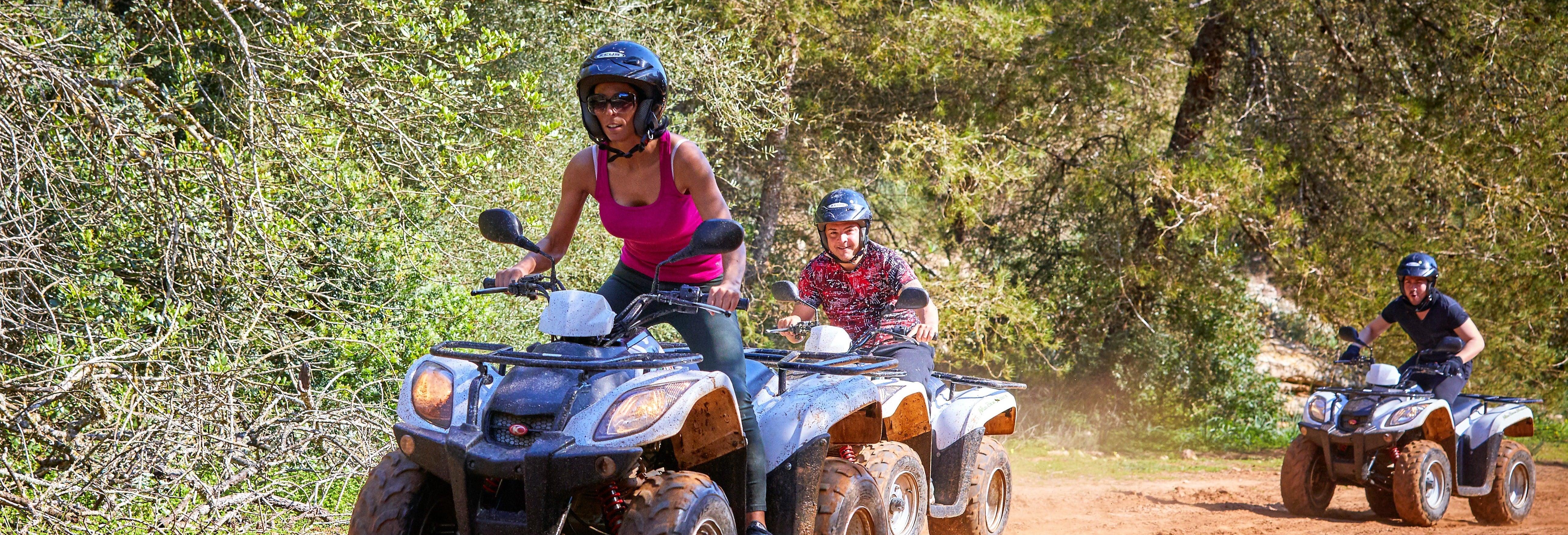 Tour en quad por Mallorca + Snorkel desde Palma