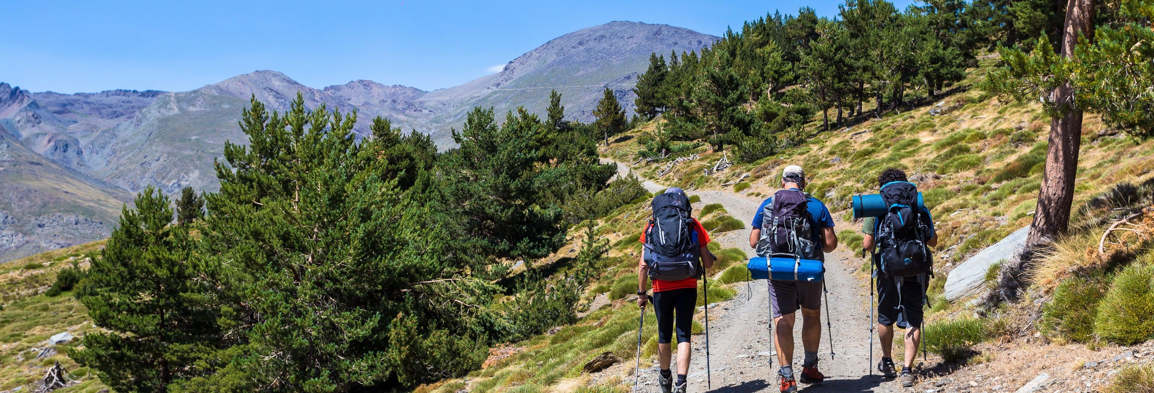 Trilha pelo Parque Nacional de Sierra Nevada