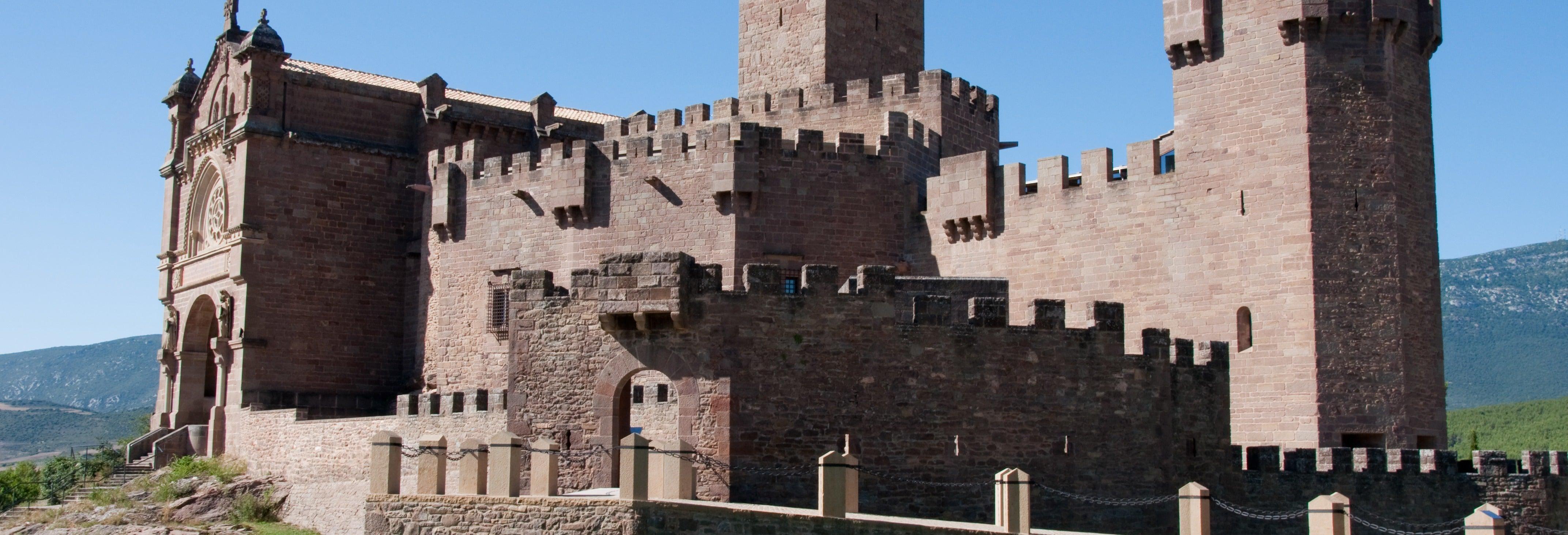 Excursão ao mosteiro de Leyre e ao castelo de Javier