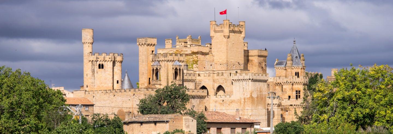 Excursión al monasterio de la Oliva, Ujué y Olite