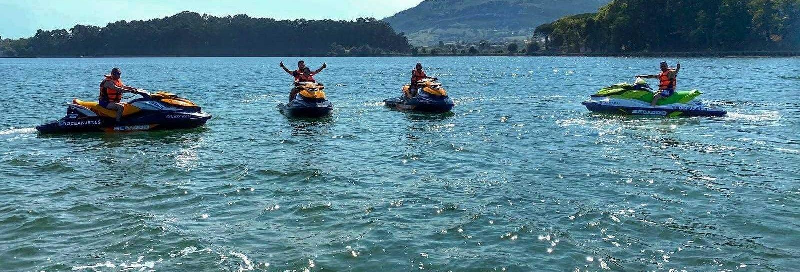 Tour en moto de agua por Santander