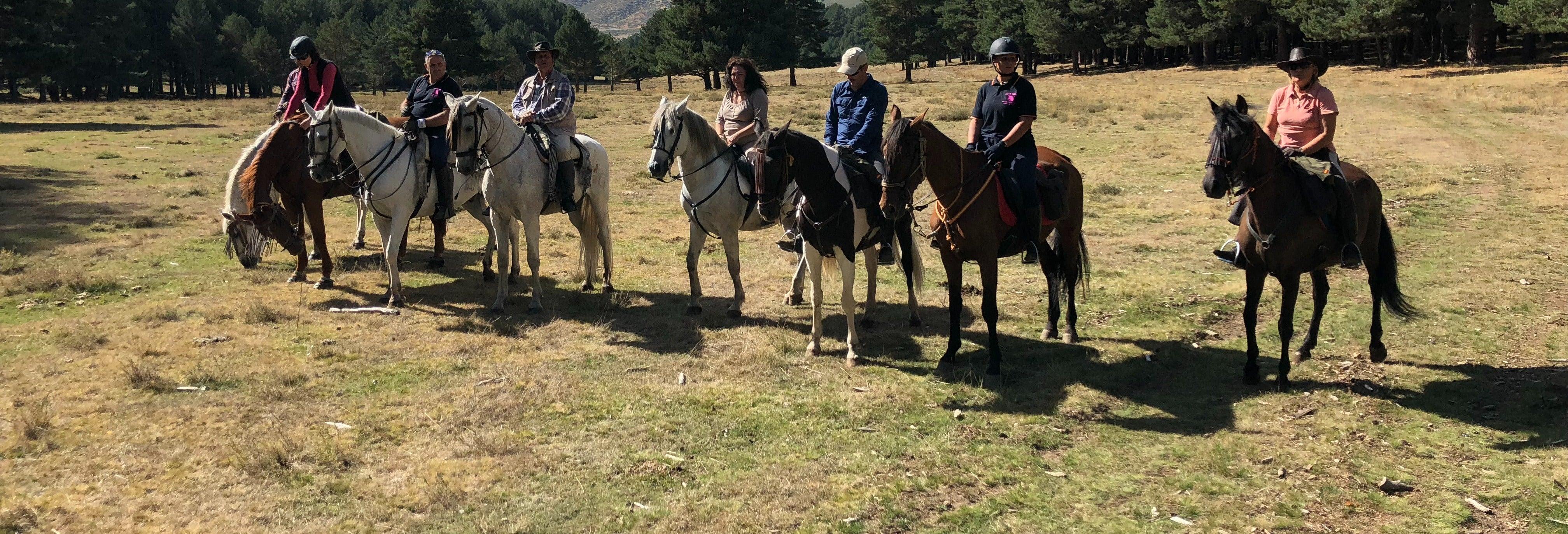 Paseo a caballo por el valle del Tiétar