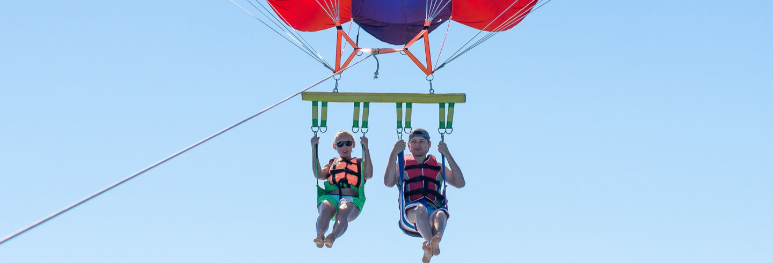 Parasailing en Playa Blanca