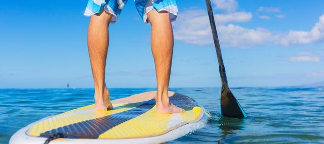 Paddle surf y snorkel en la playa de Papagayo desde Playa Blanca