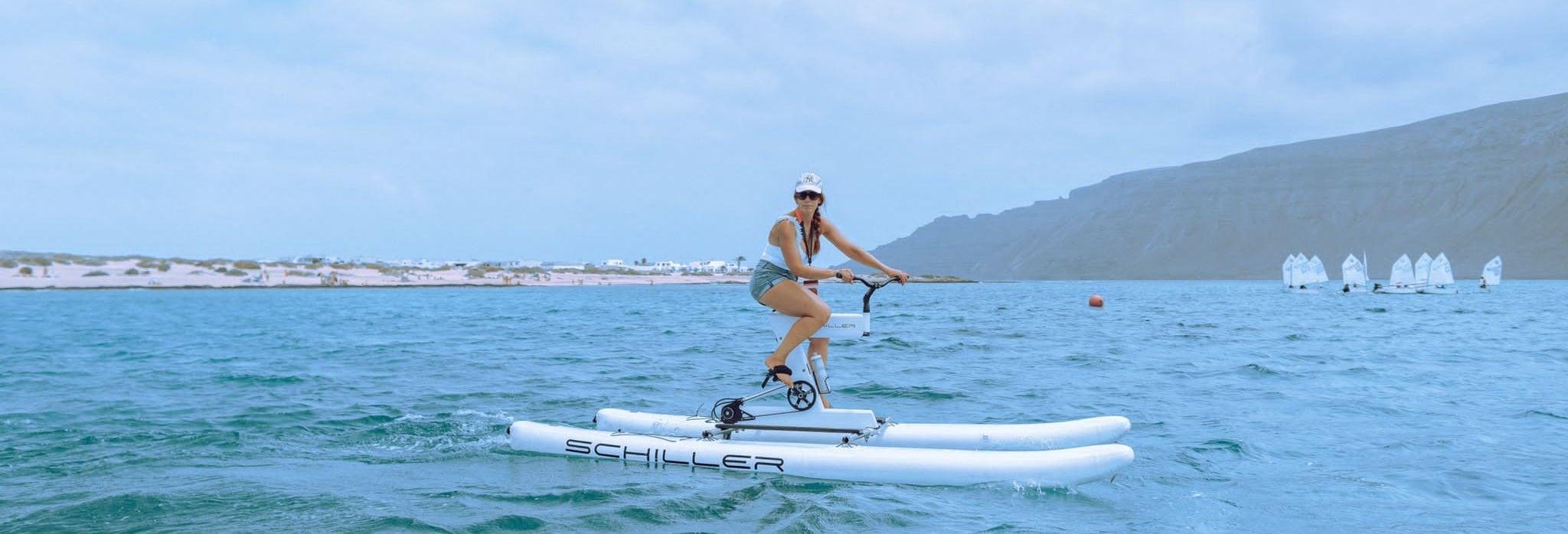 Tour en bicicleta acuática desde Playa Blanca
