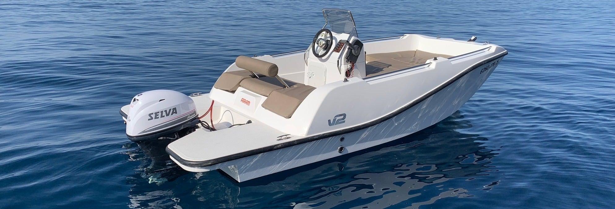 Alquiler de barcos sin licencia en Puerto Andrach