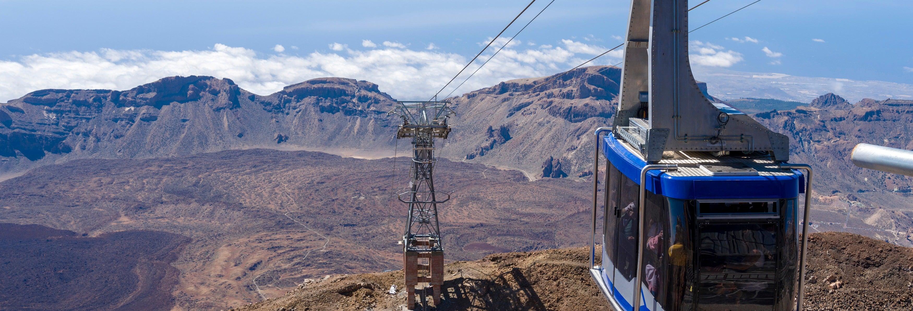 Escursione al Teide + Funivia dal nord di Tenerife