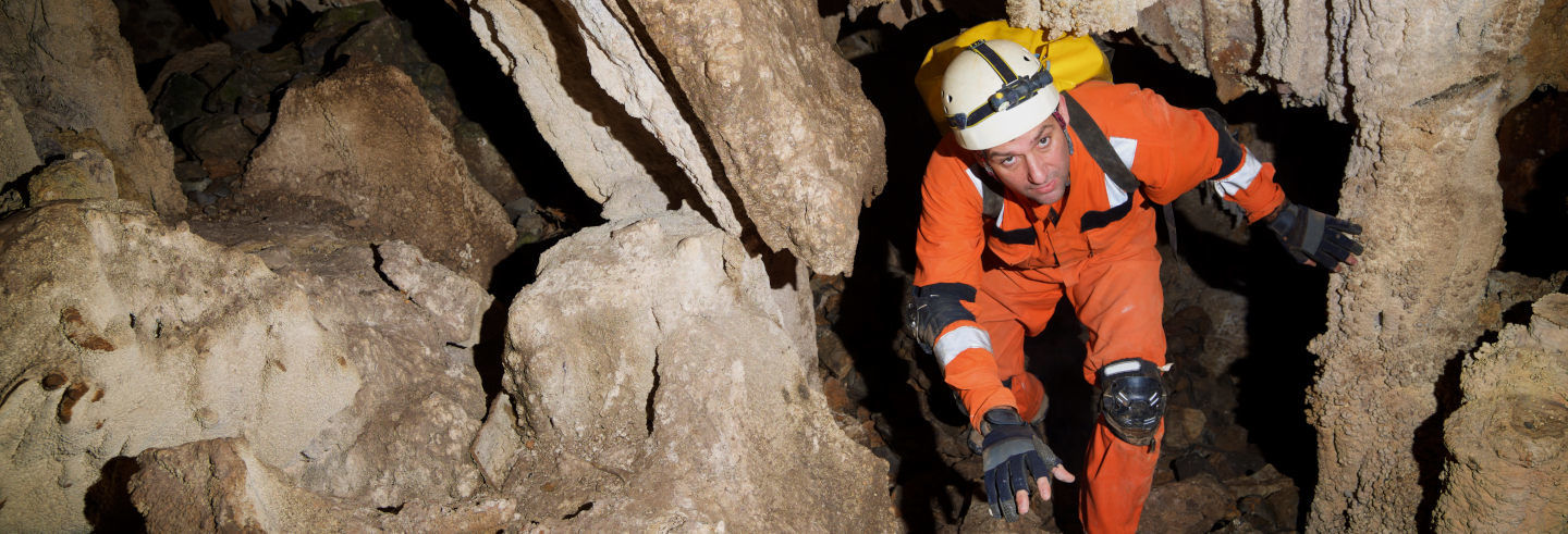 Espeleologia na Cueva de la Plata