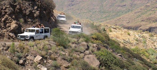 Jeep safari por el sur de Gran Canaria
