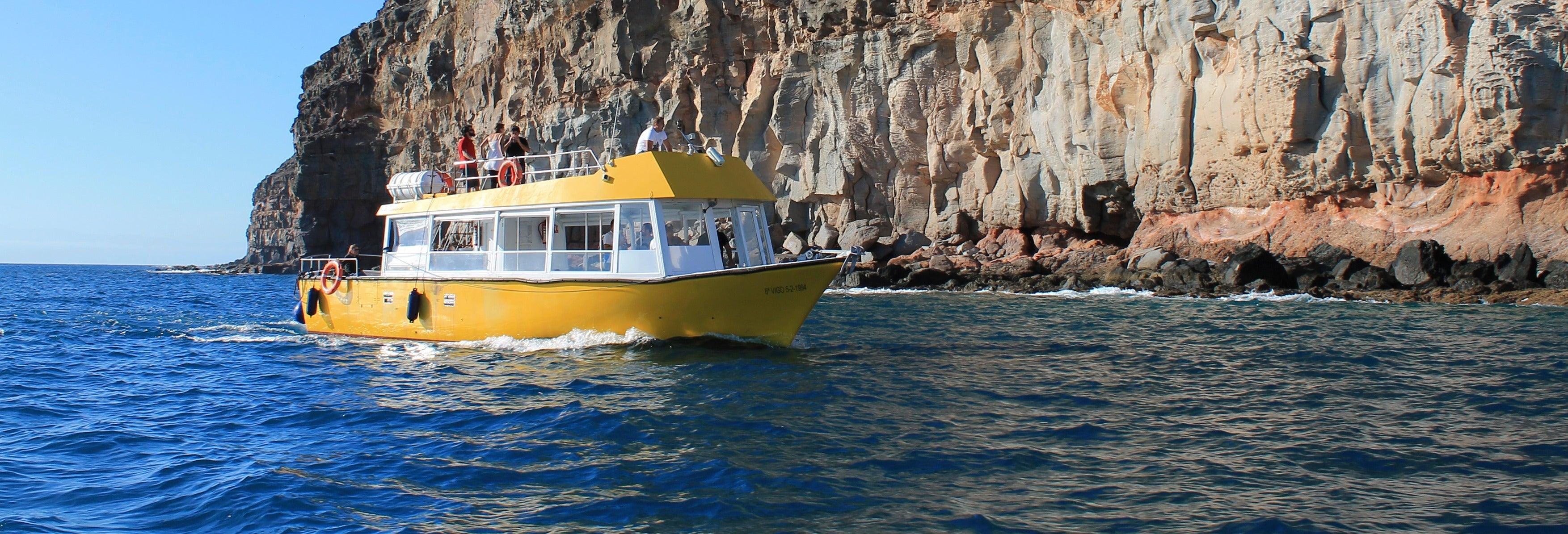 Paseo en barco por Puerto de Mogán + Snorkel
