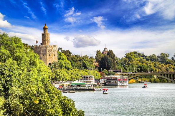 The Torre del Oro and the Guadalquivir