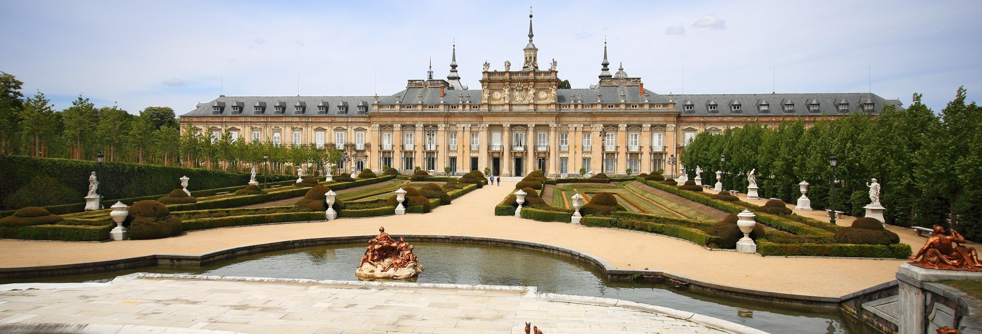 Visita guiada pelo Palácio Real de La Granja e seus jardins