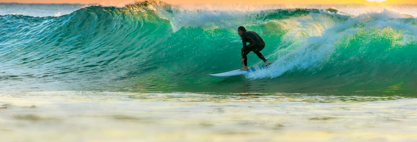 Surf Course in Ribadesella