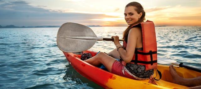 Tour en kayak por Ribadesella