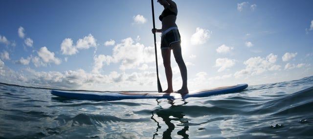 Paddle surf por Ribadesella