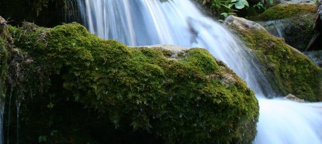 Senderismo por los Chorros del río Mundo