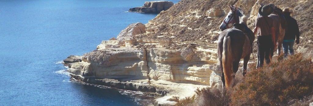 Paseo a caballo por el Cabo de Gata