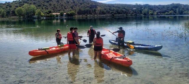 Tour en kayak por las Lagunas de Ruidera