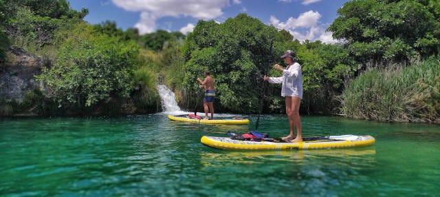 Tour en paddle surf por las Lagunas de Ruidera