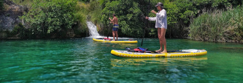 Tour de paddle surf nas Lagoas de Ruidera