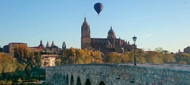 Paseo en globo por Salamanca