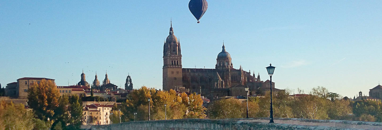 Passeio de balão por Salamanca