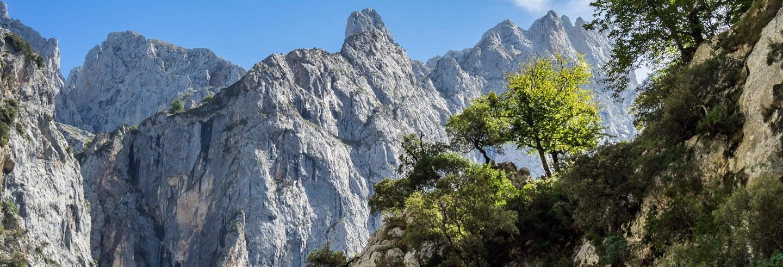 Trilha pelos Picos de Europa