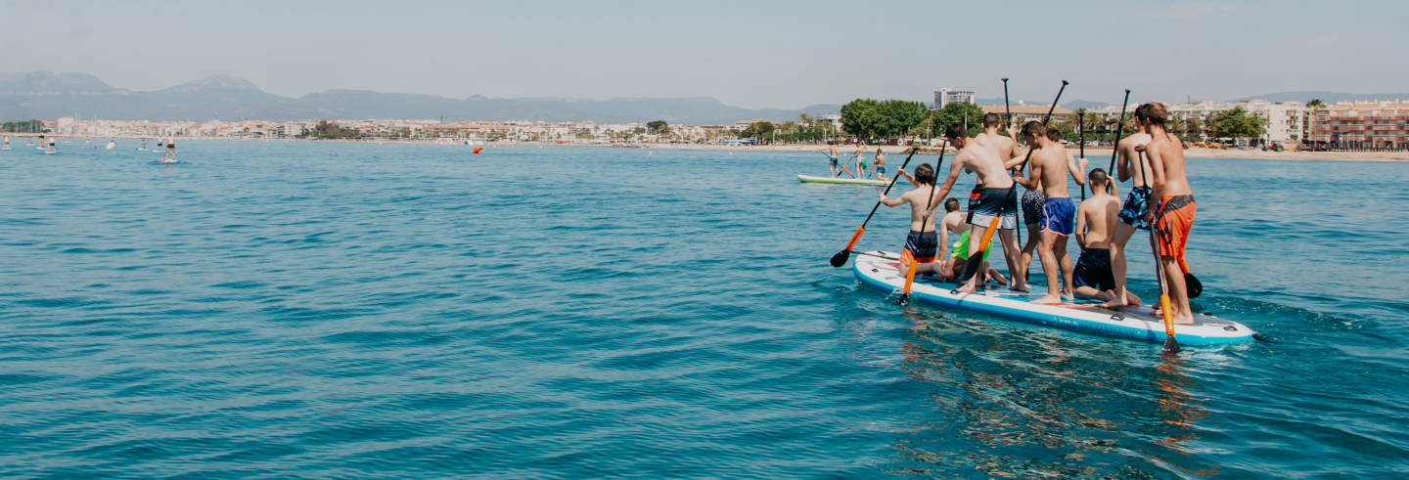 Paddle surf en Salou