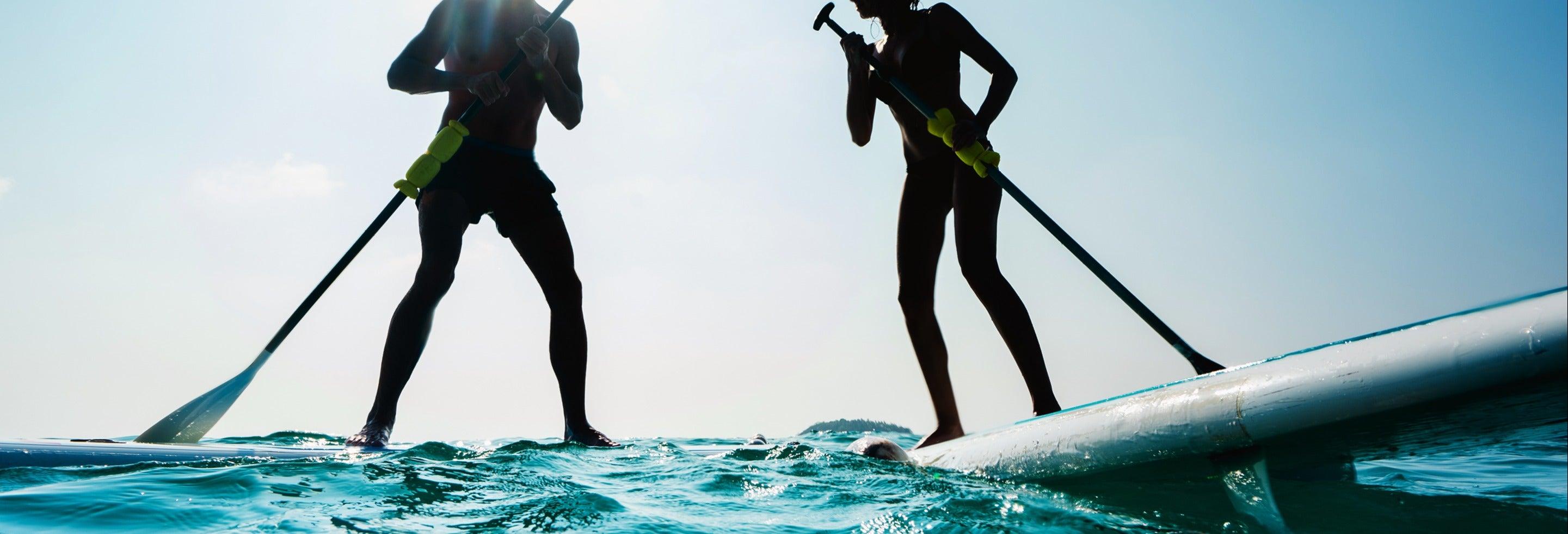Paddle surf em Salou