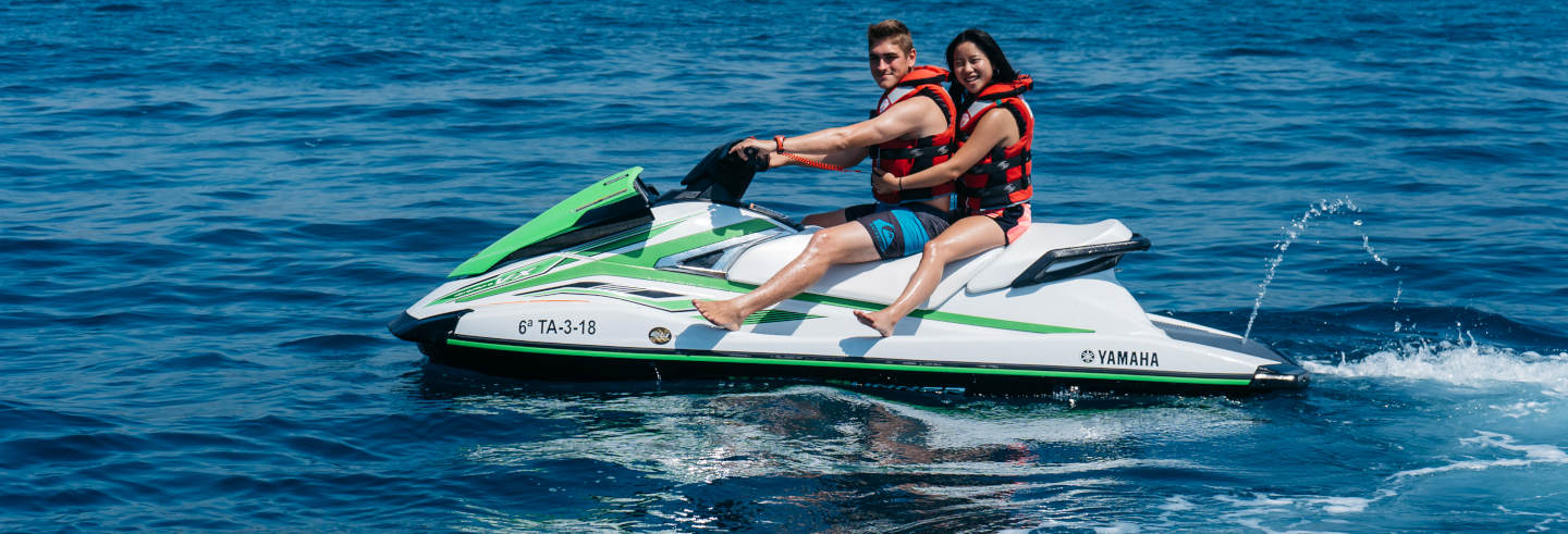 Tour di Salou in moto d'acqua