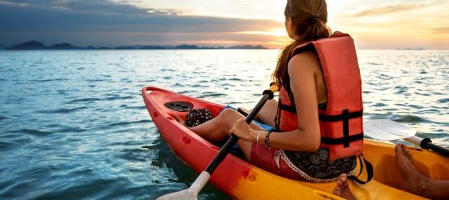 Kayak y snorkel por la Costa Brava