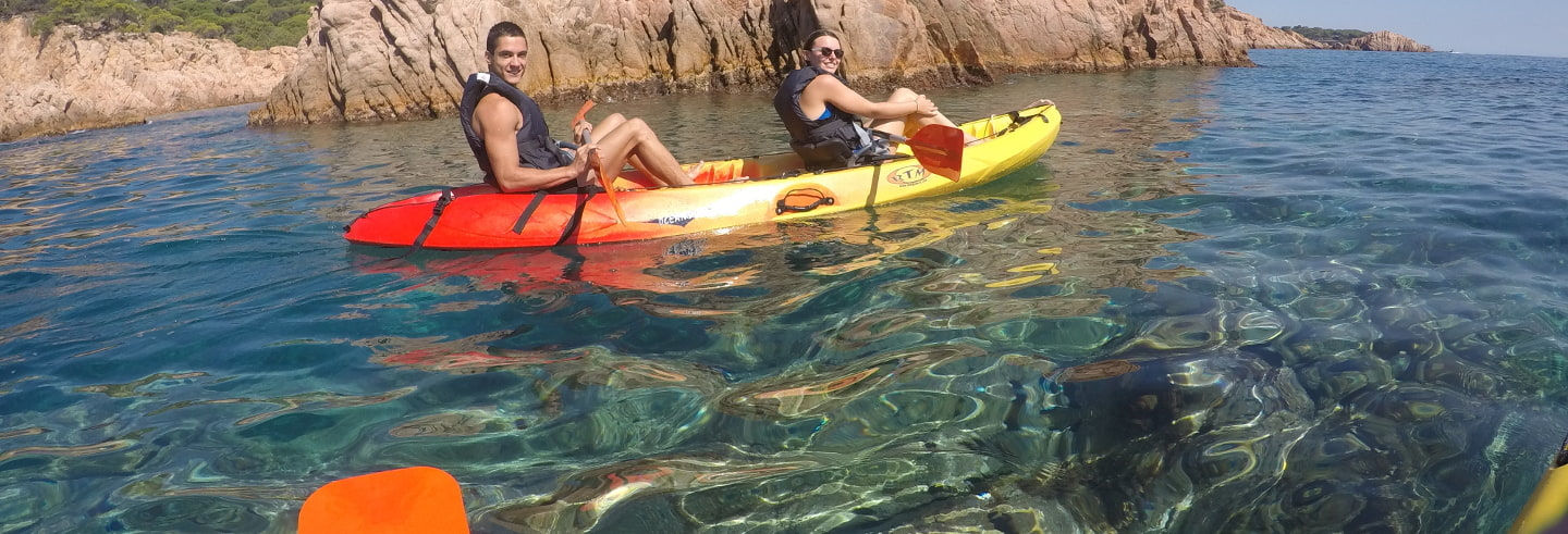 Kayak et snorkel sur la Costa Brava