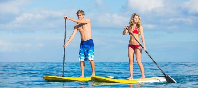 Paddle surf por la Costa Brava