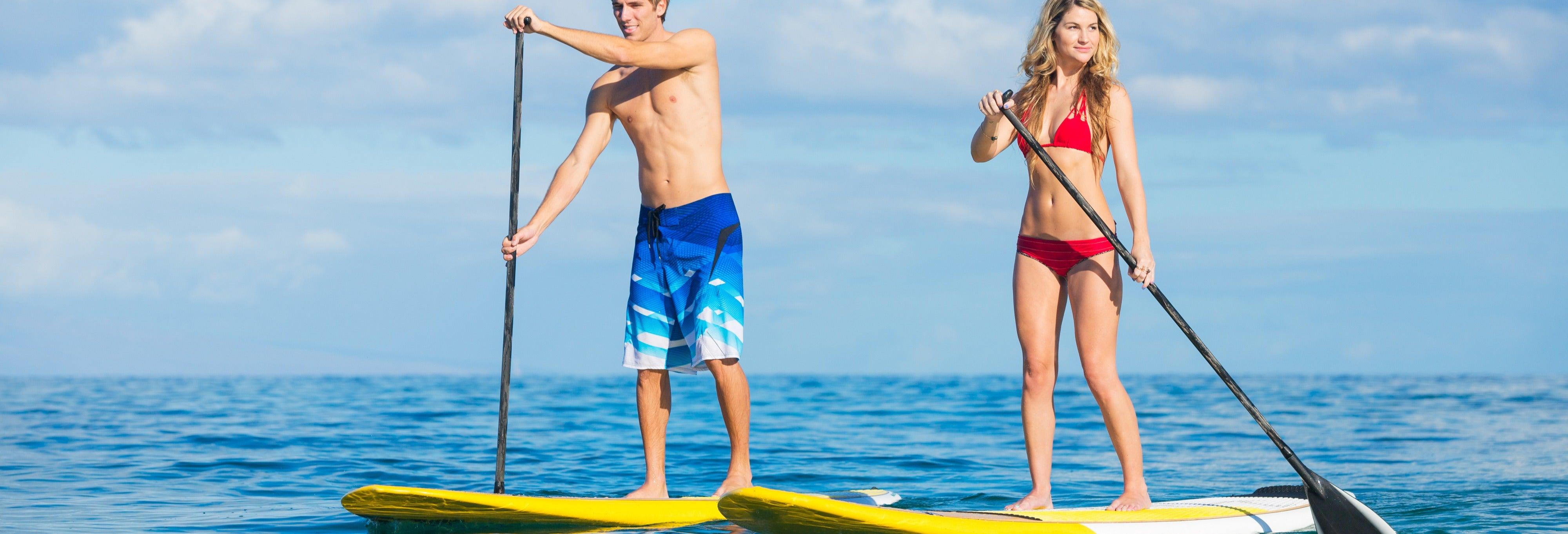 Stand up paddle sur la Costa Brava