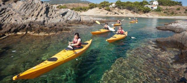 Senderismo + Kayak y snorkel por la Costa Brava
