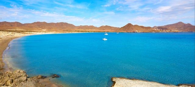 Paseo en barco por el Cabo de Gata
