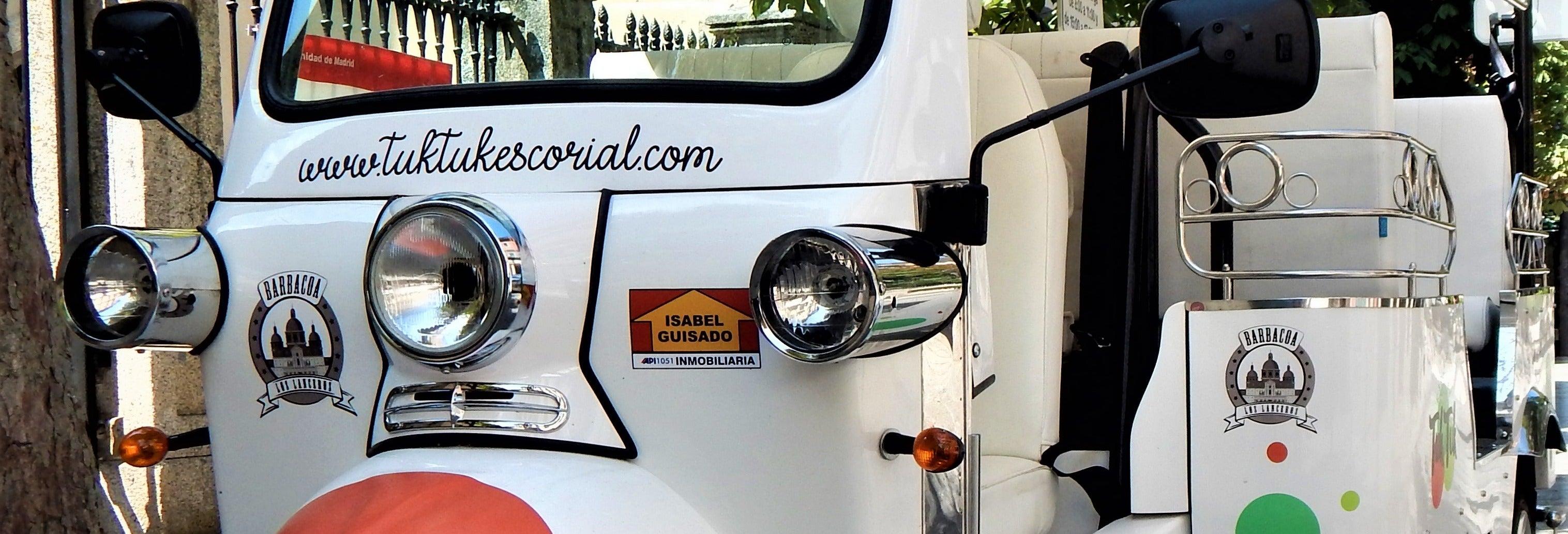 Tour en tuk tuk por El Escorial