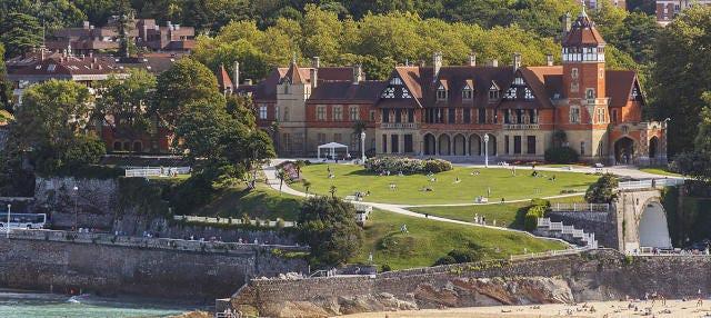 Tour dei parchi e dei palazzi di San Sebastián