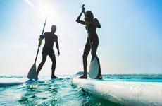 Alquiler de paddle surf en Sancti Petri