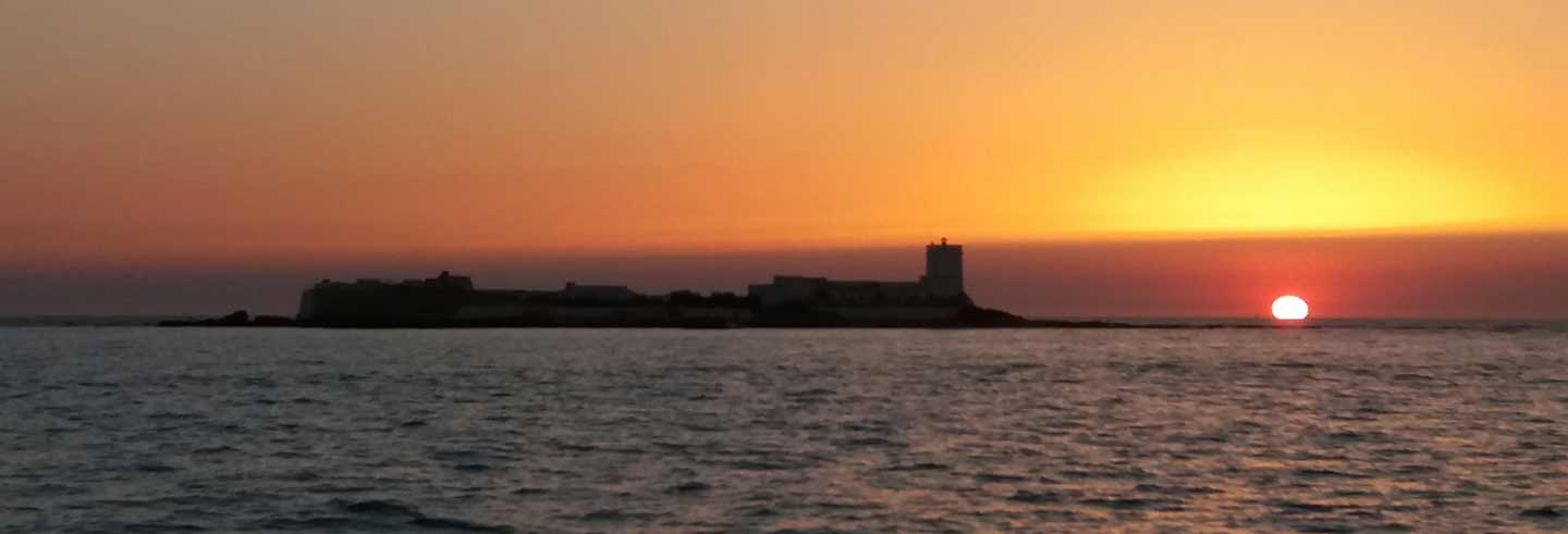 Giro in barca al tramonto