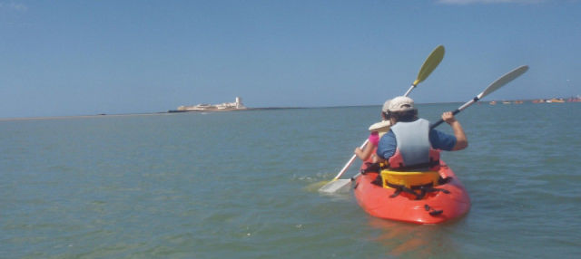 Tour en kayak por Sancti Petri