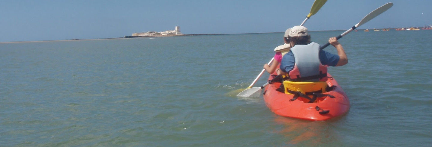 Tour en kayak por Sancti Petri